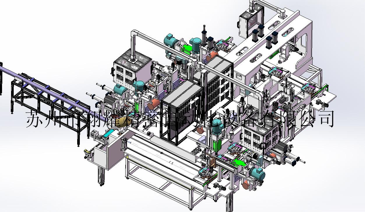 工业铝型材深加工 32轴全自动数控加工机